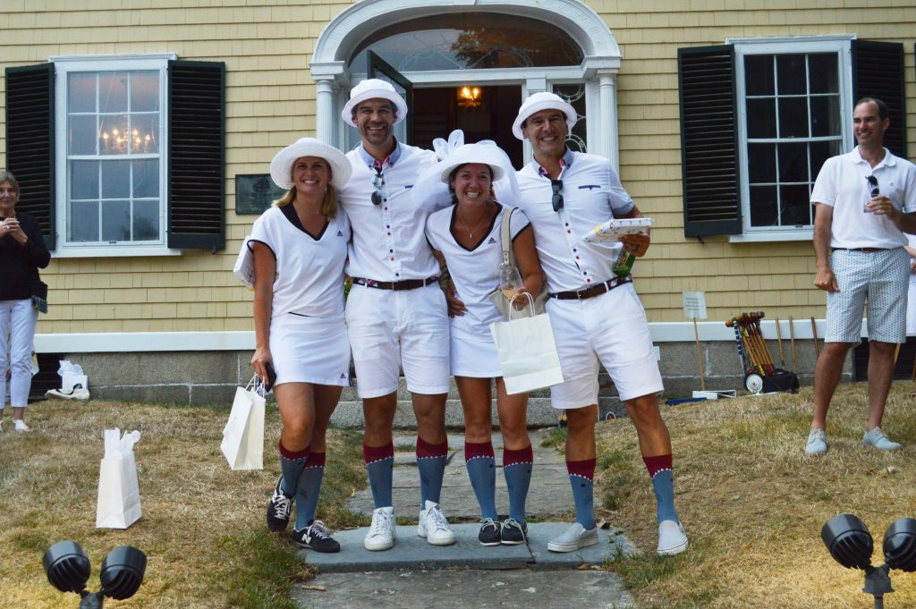 Best Foursome Winners, Chris and Jamie Kullak, Pat and Kelsey Leahy.1
